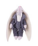 Handmade смешной кролик игрушки стоковые изображения
