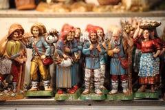 Handmade статуи для шпаргалки стоковые фотографии rf