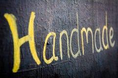 Handmade слово написанное на классн классном Стоковые Фотографии RF