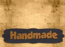 Handmade слово Стоковые Изображения RF