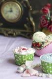 Handmade торт чашки Стоковые Изображения