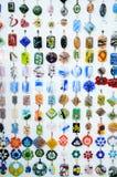 Handmade установленные earings Стоковые Изображения RF