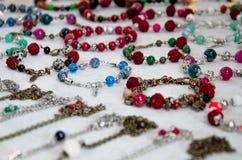 Handmade установленные wristbands Стоковая Фотография RF