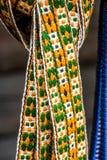 Handmade фольклорные подвязки Стоковое Фото