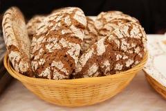 Handmade хлеб рож Стоковая Фотография