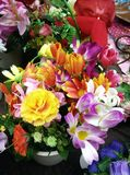 Handmade цветки в Бангкоке Стоковое Изображение