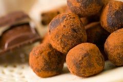 шоколады handmade стоковые изображения rf