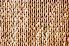 Handmade abstract yellow straw background.  Royalty Free Stock Photography