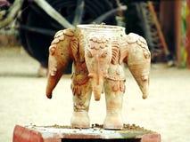 Handmade Art. Beautiful art by Indian people Royalty Free Stock Image