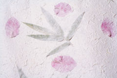 Handmade art paper Stock Photos