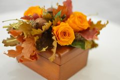 Handmade autumn article. royalty free stock images