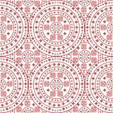 Handmade background with traditional ornament. Handmade background with circle traditional ornament Royalty Free Stock Photo