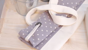 Handmade Bag Packaging Stock Photography