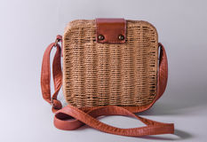 Handmade Bag. Retro bags Made by hand and manufactured in Thailand Royalty Free Stock Photography