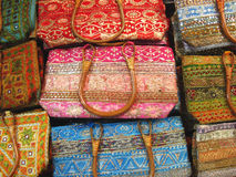 Handmade Bags Royalty Free Stock Images