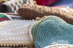 Handmade bags Stock Image