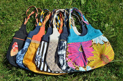 Handmade bags Royalty Free Stock Photos