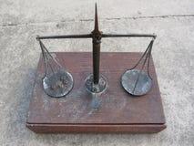 Handmade balance scale Royalty Free Stock Image