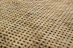 Handmade bamboo weave pattern texture. Abstract background. Handmade bamboo weave pattern texture. Abstract background from low angle view Stock Photo