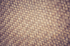 Handmade bamboo weave texture for background. Detail of handmade bamboo weave texture for background Royalty Free Stock Images