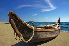 Handmade-barca Fotografia Stock