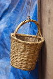 Handmade basket Stock Photos
