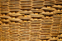Handmade basket. texture and background Royalty Free Stock Photography
