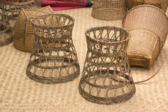 Handmade basket Royalty Free Stock Images