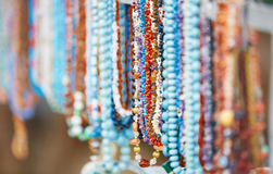 Handmade beads Stock Photos