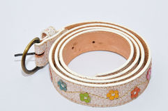 Handmade Belt. Accessory for woman stock image