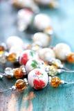 Handmade biżuterii kolia ceramiczna glina Fotografia Stock