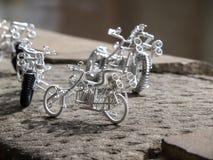 Handmade bike Stock Photo
