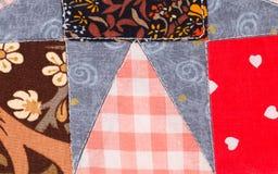 Handmade blanket. Stock Images