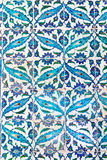 Handmade Blue Tiles Royalty Free Stock Photography
