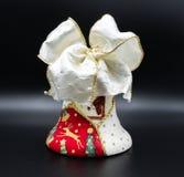Handmade boże narodzenie dzwony fotografia royalty free
