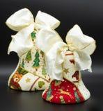 Handmade boże narodzenie dzwony obrazy royalty free