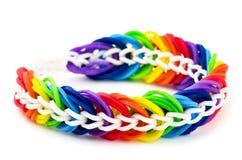 Handmade bracelet Stock Photo