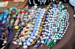 Handmade bracelets Stock Images