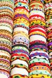 Handmade bracelets Stock Image