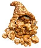 Handmade Bread Horn of Plenty Royalty Free Stock Photo