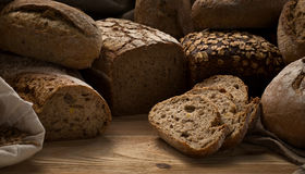 Handmade bread Royalty Free Stock Photo