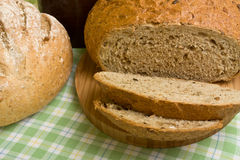 Handmade Breads Royalty Free Stock Photos