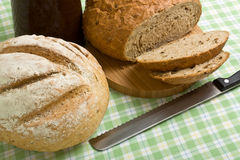 Handmade Breads Royalty Free Stock Image