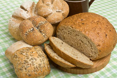 Handmade Breads Royalty Free Stock Photo