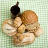 Handmade Breads Stock Image