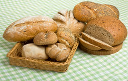Handmade Breads Royalty Free Stock Photography