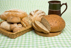 Handmade Breads Royalty Free Stock Photo