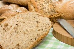 Handmade Breads Royalty Free Stock Photography