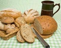Handmade Breads Stock Photography