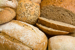 Handmade Breads background Royalty Free Stock Image